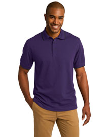 Port Authority K454 Men Rapid Dry Tipped Polo