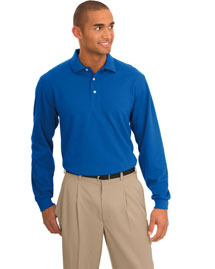 Port Authority TLK455LS Men Tall Rapid Dry? Long Sleeve Polo