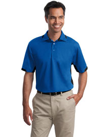 Port Authority Tlk524 Men Tall Dry Zone? Colorblock Ottoman Polo
