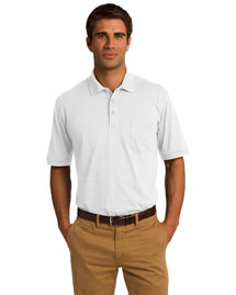 Port & Company KP55P 5.5Ounce Jersey Knit Pocket Polo at bigntallapparel