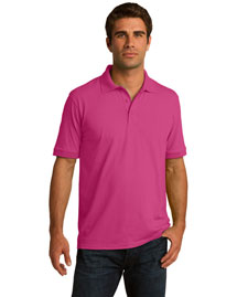 Port & Company Kp55t Men Tall 5.5ounce Jersey Knit Polo