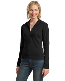Port Authority L221 Women WoFlatback Rib Full-Zip Jacket