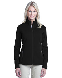 Port Authority L222 Ladies Pique Fleece Jacket at bigntallapparel