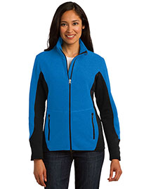 Port Authority L227 Ladies RTek Pro Fleece FullZip Jacket at bigntallapparel