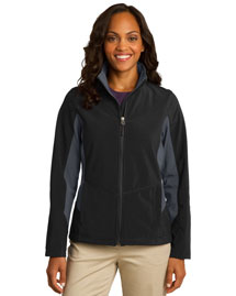 Port Authority L318 Women Mencore Colorblock Soft Shell Jacket