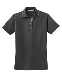 Port Authority L456 Ladies Rapid Dry™ Polo With Contrast Trim at bigntallapparel