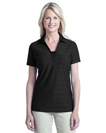 Port Authority L514 Women Horizontal Texture Polo