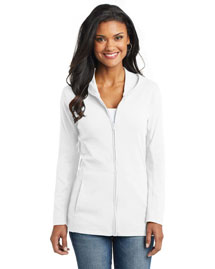 Port Authority L519 Women Modern Stretch Cotton Full-Zip Jacket