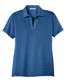 Port Authority L526 Women Dry Zone Horizontal Texture Polo