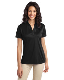 Port Authority L540 Women Silk Touch? Performance Polo at bigntallapparel