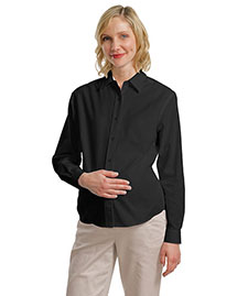 Port Authority Signature L608M Women Port Authority Maternity Long Sleeve Easy Care Shirt