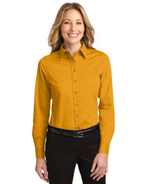 Port Authority L608 Women's Long Sleeve Easy Care Shirt