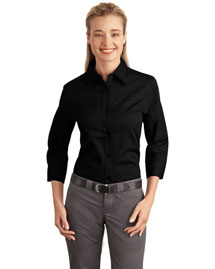 Port Authority L612 Ladies 3/4-Sleeve Easy Care Shirt at bigntallapparel