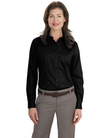 Port Authority L638 Women's Long Sleeve Non-Iron Twill Shirt