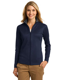 Port Authority L805 Women Heavyweight Vertical Texture Fullzip Jacket