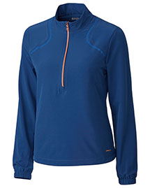 Cutter & Buck LAO09806  Half Zip Nova Chirsty Windshirt at bigntallapparel