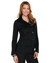 Tri-Mountain LB677 Women's 10.4 Oz 60% Cotton/40% Polyester Fleece Peacoat at bigntallapparel