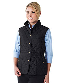 Tri-Mountain LB8221 Women 95% Polyester 5% Nylon Woven Poly-Filled Quilted W/R Jacket