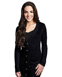Tri-Mountain LB928 Women WoBoyfriend Sweater Cardigan