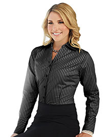 Tri-Mountain LB970 Women 100% Cotton Y/D Woven Shirts