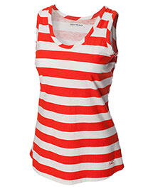Cutter & Buck LCK02427 Women S/L Rookie Stripe Tank at bigntallapparel