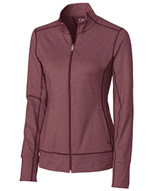 Cutter & Buck LCK02560 Women Cb Drytec  Topspin Full Zip