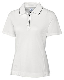 Cutter & Buck LCK08415 Women Cb Drytec Cutter Tipped Polo