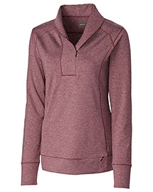 Cutter & Buck LCK08663 Women Shoreline Half Zip