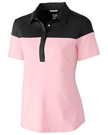 Cutter & Buck Lck08694  S/S James Colorblock Polo