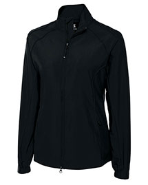 Cutter & Buck LCO01170 Women Cb Windtec Astute Full Zip Windshirt at bigntallapparel