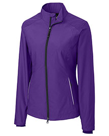 Cutter & Buck LCO01211 Women Cb Weathertec Beacon Full Zip Jacket at bigntallapparel