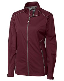 Cutter & Buck LCO01220 Women Cb Weathertec Opening Day Softshell at bigntallapparel