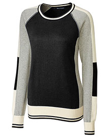 Cutter & Buck Lcs08102  Stride Colorblock Sweater