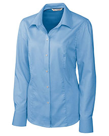 Cutter & Buck LCW04124 Women Long Sleeve Epic Easy Care Nailshead at bigntallapparel