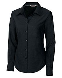 Cutter & Buck LCW08399 Women Long Sleeve Epic Easy Care Royal Oxford at bigntallapparel