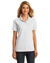 Port & Company LKP150 Ladies Ring Spun Pique Polo at bigntallapparel