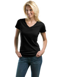 Port Authority Lm1002 Women Concept V-Neck Tee