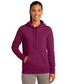 Sport-Tek LST254 Ladies Pullover Hooded Sweatshirt at bigntallapparel