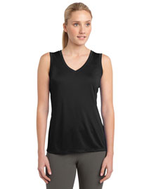 Sport-Tek LST352 Ladies Sleeveless Competitor? VNeck Tee at bigntallapparel
