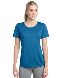 Sport-Tek LST360 Women Heather Contender Scoop Neck Tee