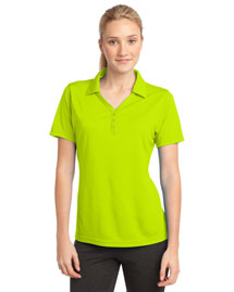 Sport-Tek LST680 Ladies Posicharge MicroMesh? Polo at bigntallapparel