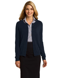 Port Authority LSW287 Women Cardigan at bigntallapparel