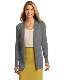 Port Authority LSW289 Ladies Open Front Cardigan at bigntallapparel