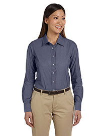 Harriton M555W Women 3.48 Oz. Chambray