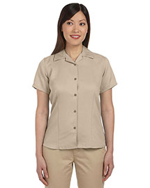 Harriton M570W Ladies' Bahama Cord Camp Shirt at bigntallapparel