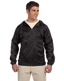 Harriton M750 Mens Packable Nylon Jacket at bigntallapparel