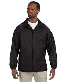 Harriton M775 Mens Nylon Staff Jacket at bigntallapparel