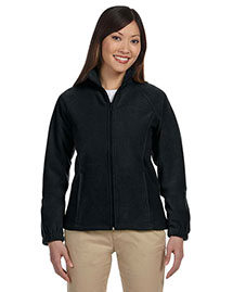 Harriton M990w Women 8 Oz. Full-Zip Fleece