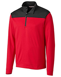 Cutter & Buck MBK01274 Men Skyridge Half Zip