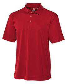 Cutter & Buck MCK00291 Men Cb Drytec Genre Polo